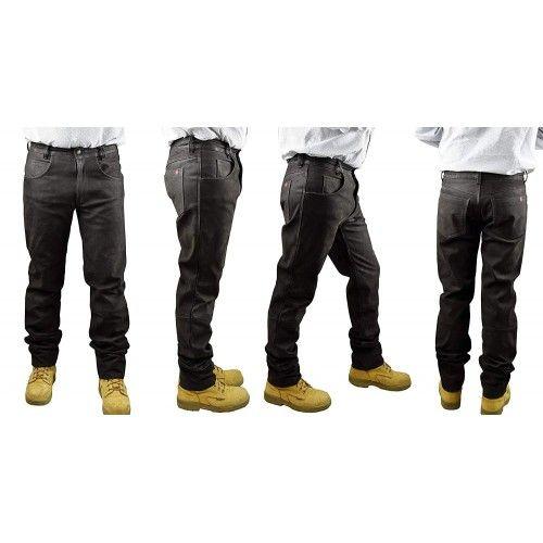 Pantalon de chasse en cuir antiaubépine Kenrod - 2