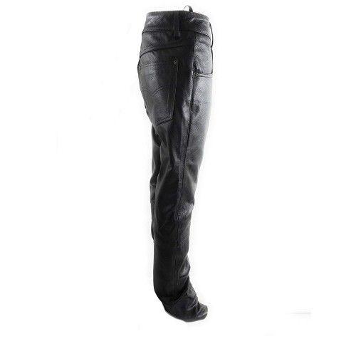 Pantalon en cuir pour femme avec cinq poches Kenrod - 2