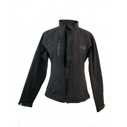 Veste néoprène softshell couleur noir Kenrod - 1