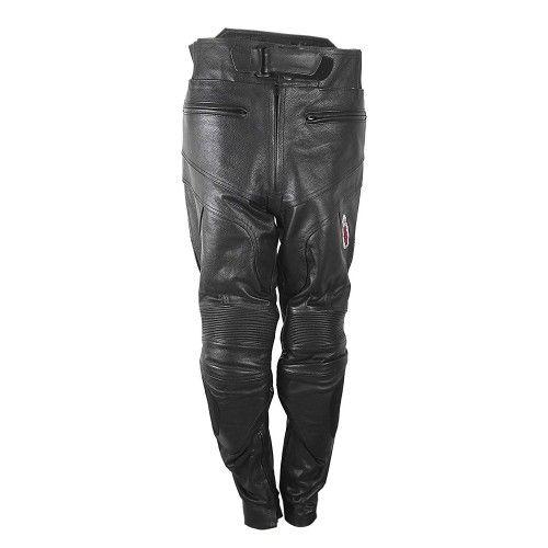 Pantalon en cuir avec...