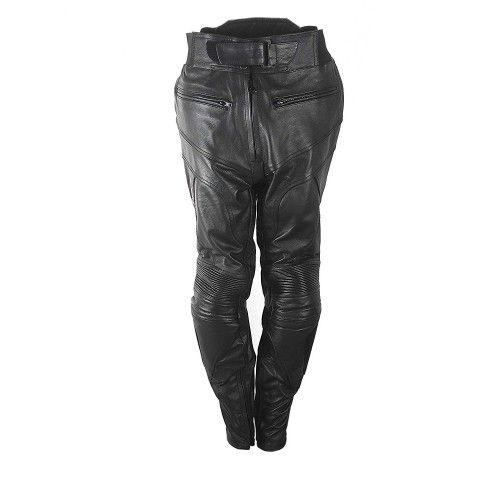 Pantalon en cuir avec protections moto Kenrod - 1