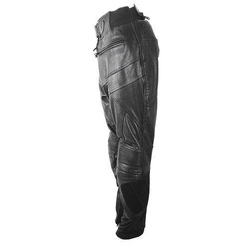 Pantalon en cuir avec protections moto Kenrod - 2