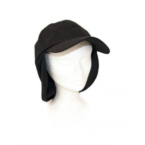 Casquette unisexe avec cache-oreilles couleur noir Kenrod - 2