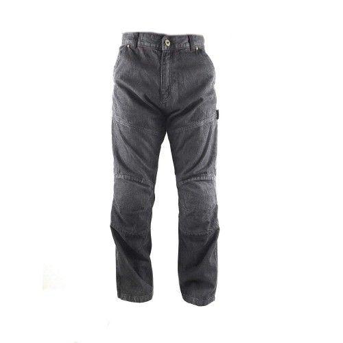 Pantalons jean moto couleur noir Kenrod - 1