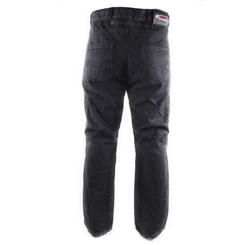 Pantalons jean moto couleur noir Kenrod - 2