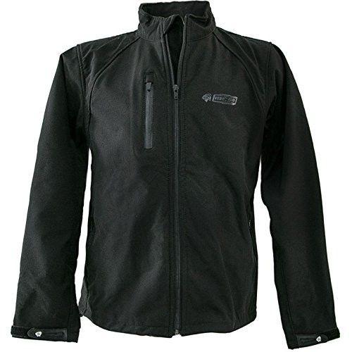 Veste en néoprène softshell couleur noir Kenrod - 1