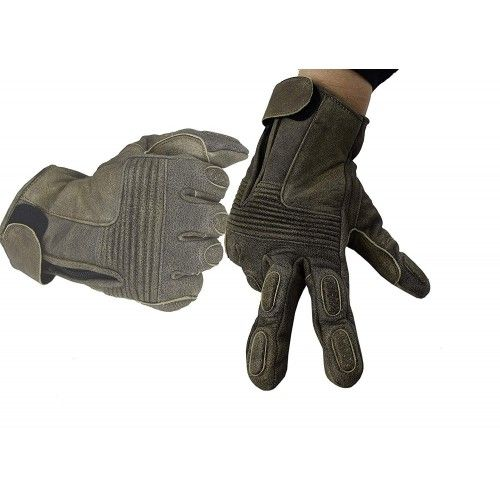 Gants pour motards en cuir...