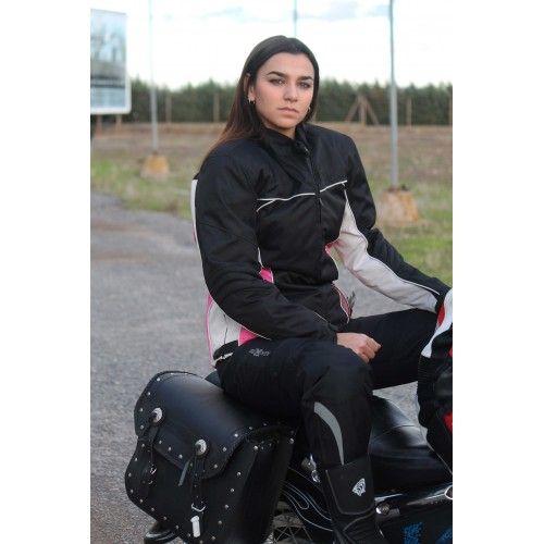 Veste moto en cordura avec...