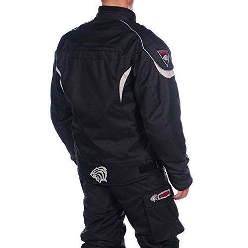 Veste moto cordura à manches longues avec fermetures éclair et poches Kenrod - 2