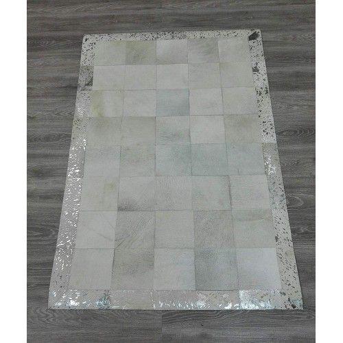 Tapis patchwork peau de vache 180x120 cm Zerimar - 2