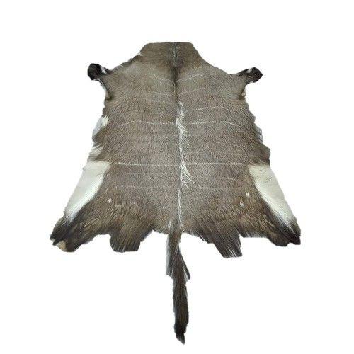 Tapis africain en peau de nyala 130x120 cm Zerimar - 1