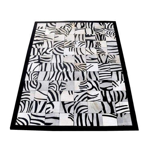 Tapis en peau de taureau dimensions 170x240 cm Zerimar - 1