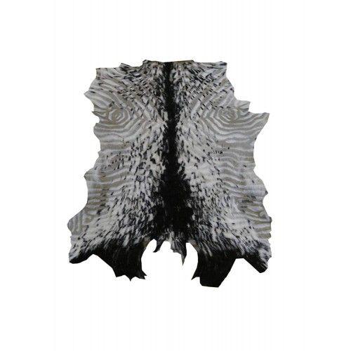 Tapis en peau de chèvre naturelle 80x70 cm Zerimar - 1