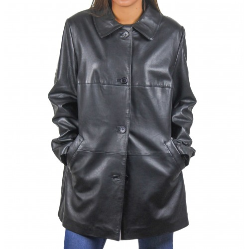 Manteau d'hiver en fourrure pour femme Zerimar - 1