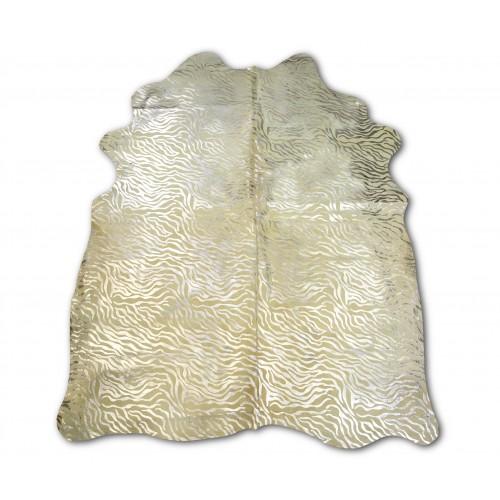 Tapis en peau de vache naturelle 215x170 cm imprimé animal Zerimar - 1