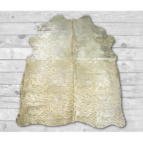Tapis en peau de vache naturelle 215x170 cm imprimé animal Zerimar - 2