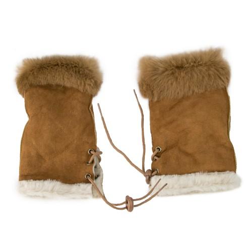 Gants d'hiver en cuir