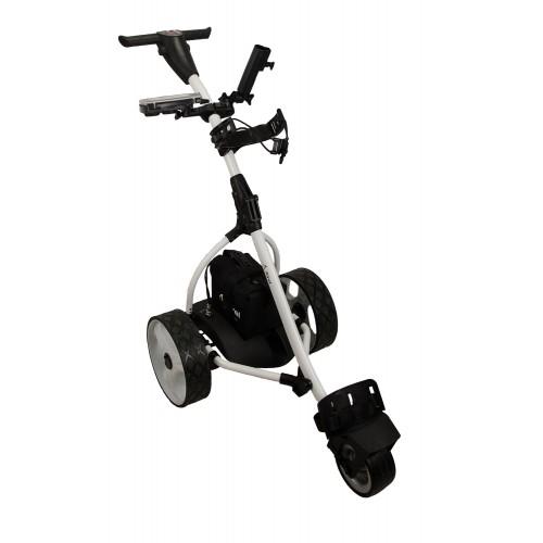Chariot de golf électrique pliable avec 3 roues - batterie au gel Airel - 1