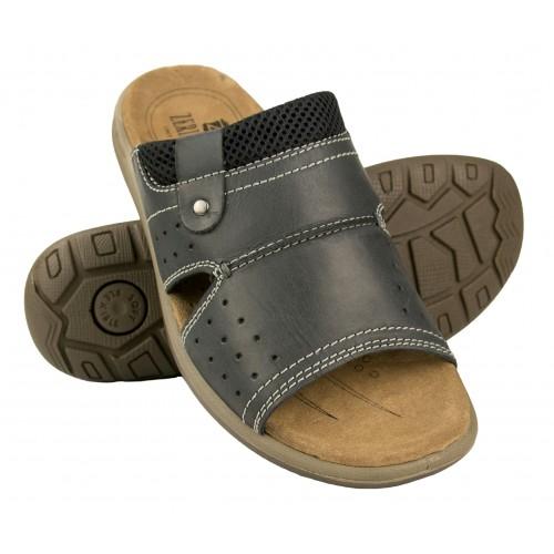 Sandales en cuir naturel BLEND