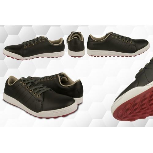 Chaussures de golf en cuir pour homme couleur bleu marine Airel - 6