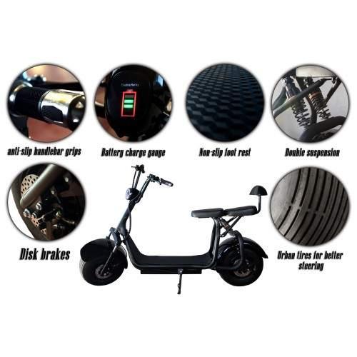 Scooter électrique Harley Airel - 3