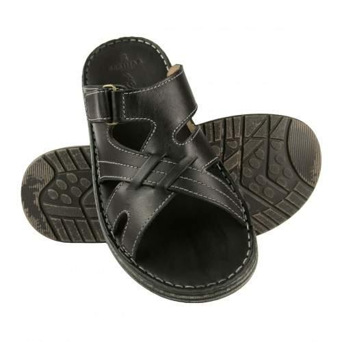 Sandale en cuir modèle CARONTE Zerimar - 1