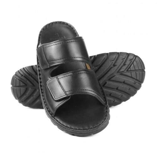 Sandale en cuir modèle CERBERO Zerimar - 1