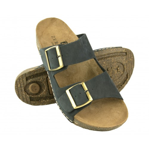 Sandales en cuir à double boucle BIOS Zerimar - 1