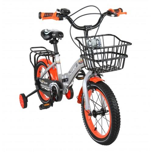 Vélo pliant pour enfants de 14 à 18 pouces avec panier Airel - 1
